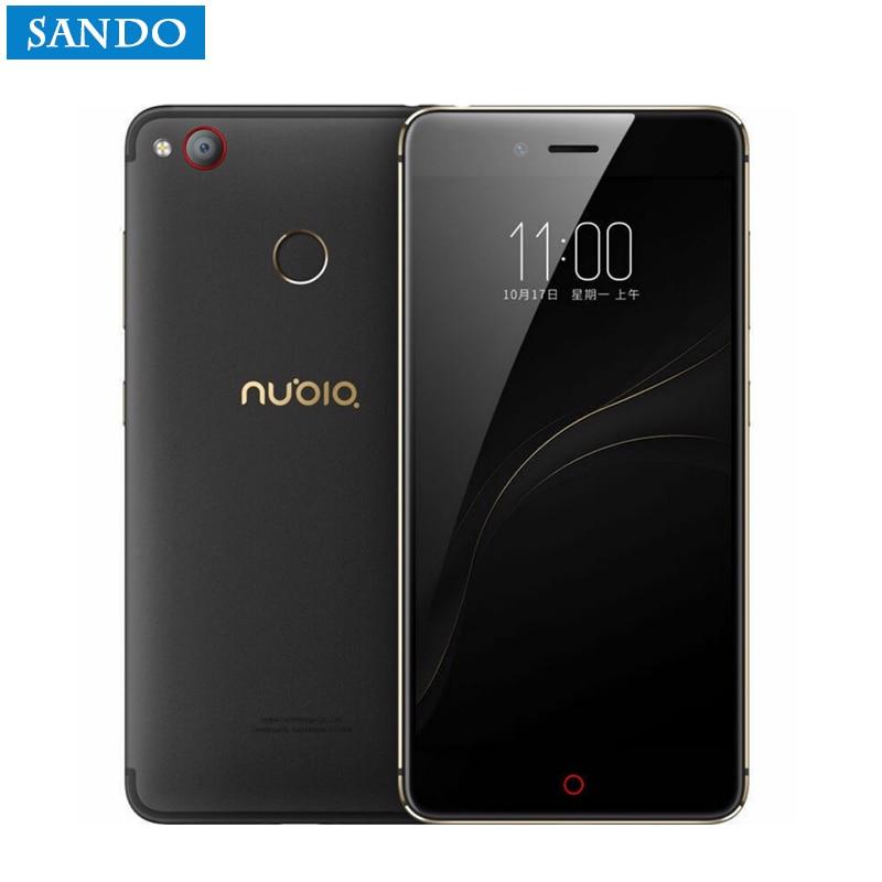 Global Version Originale 5.2 ZTE Nubia Z11 Mini S 23.0MP Caméra 4 GB RAM Mobile Téléphone 64 GB ROM Snapdragon MSM8953 Octa Core