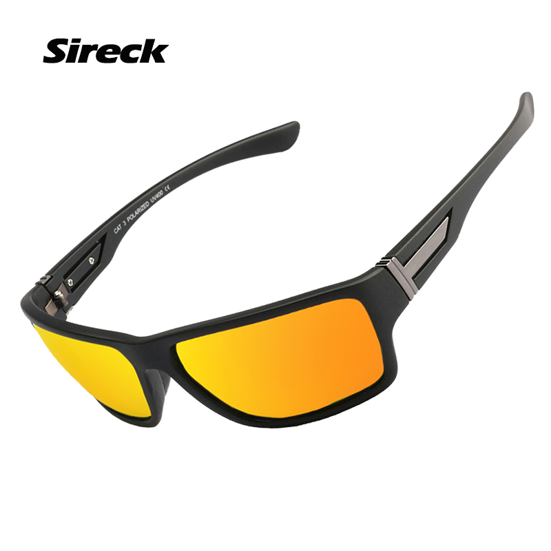 Sireck Polarized Sport Sunglasses Fishing Goggles Men Women UV400 Driving Cycling Glasses TR90 Outdoor Climbing Hiking Eyewear