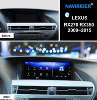 Navirider Android 7.1 Car Radio Player For LEXUS RX270 RX350 2009~2015 Top equipped GPS Navi headunit OBD Screen Media no CD DVD