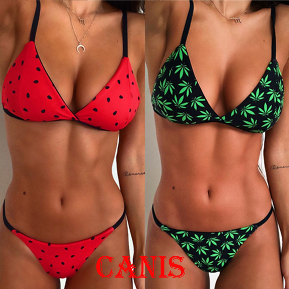 HTB1HPU2V4naK1RjSZFtq6zC2VXag 2018 New Flower Bikinis Set Combinatorial Set Sexy Women Swimwear Push Up Padded Neon Bandage Swimsuits Hot Selling Bathing Suit