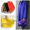 Designer Runway style Faux Fur women clutch hand bag Purse Celebrity love Multi color Free shipping