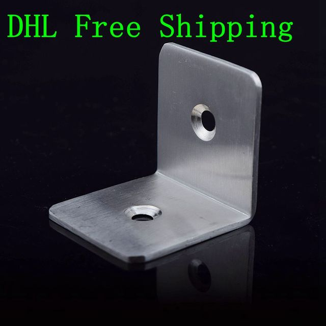 High Quality 10pcs/lot 45x45mm Stainless Steel 2 Holes Granite ...