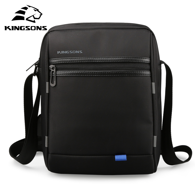 Kingsons Famous Brand Men Bag Casual Business Mens Messenger Bags Vintage Men Crossbody Bag Bolsas Male new casual business leather mens messenger bag hot sell famous brand design leather men bag vintage fashion mens cross body bag
