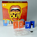 Speak Out Game Party Family Children Practice Talk Toys Mouthpiece Game