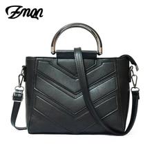 ZMQN Famosa Marca de Lujo Bolsos de Diseño Bolso de Las Mujeres 2017 Pequeña mujeres Messenger Bag Ladies Bolso de Mano de LA PU Bolso de Cuero Negro 990