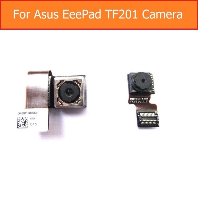 Módulo gran cámara genuino para asus eee pad tf201 frente trasera cámara Frontal y cámara Trasera del módulo flex cable reparación del reemplazo parte