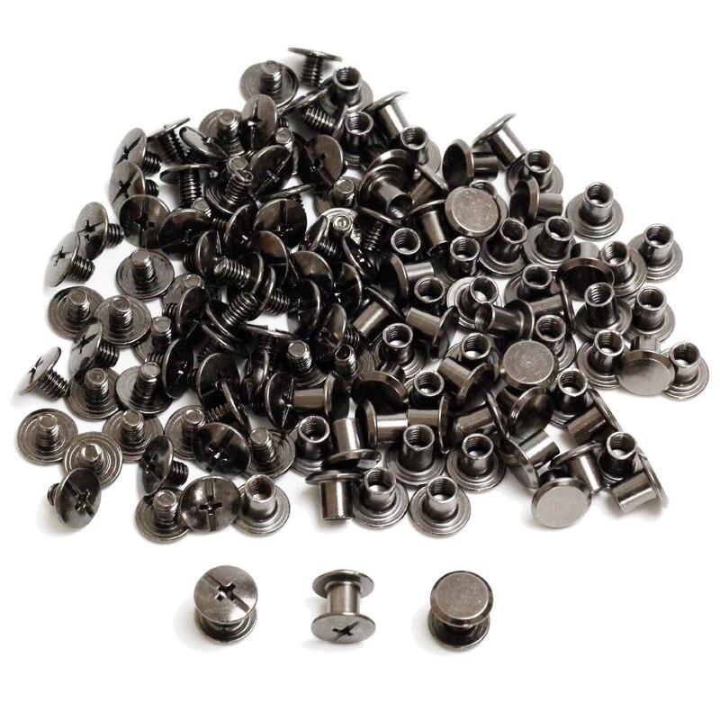 100pcs Chicago Screw Set Tek Lok Screw Set For DIY Kydex Sheath Hand Tool Parts