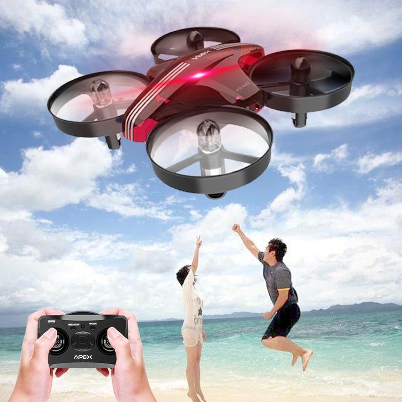 APEX Headless Modo Mini Drone com 2.4g RC Quadcopter Dron aviões de controle remoto de Brinquedo Para Crianças