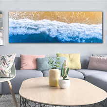 GoldLife Wall Art Home Decor Nordic Landcape Canvas Painting For Living Room Sea Wave Picture Print and Posters