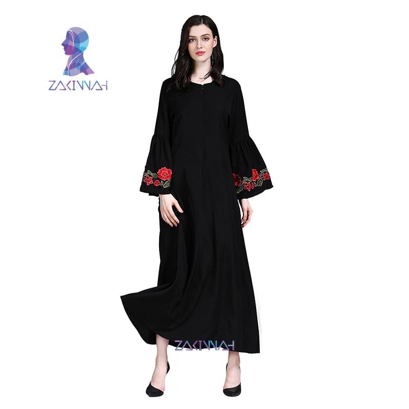 muslim american dress european plus dubai dresses embroidere islamic clothing