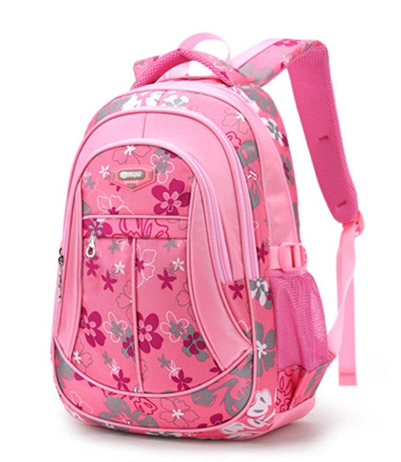 moda mochila escolar bolsas de Tipo de Estampa : Floral