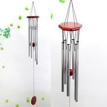Большой ветряные колокольчики открытый дизайн сад крыльцо балкон украшение дома орнамент красное дерево колокольчики