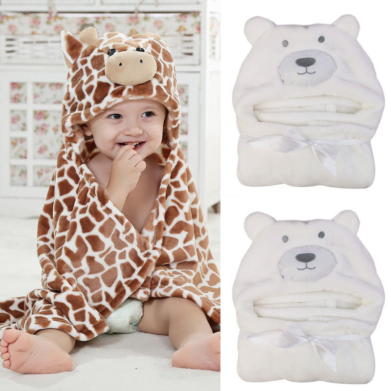 Pop Cartoon Cute Baby Infant Girl Boy Blanket Hot Sale Bath Towel Washcloth Feeding Wipe Cloth Swaddle Wrap Blanket