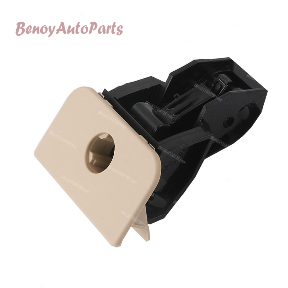 Qiilu Car Glove Box Verrou Loquet Poign/ée Beige