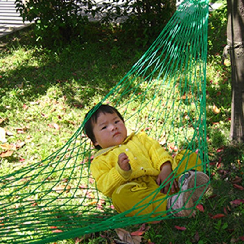 2017 Parachute Nylon Fabric Mesh Rope Portable Indoor Outdoor Swing Hammock Travel Sleeping Bed H147 2017 portable nylon garden outdoor camping travel furniture mesh hammock swing sleeping bed nylon hang mesh net