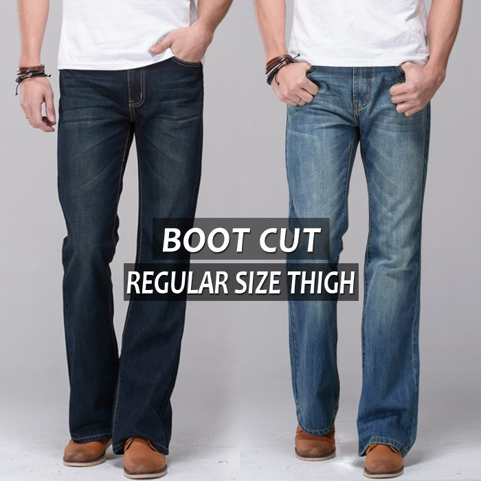 Mens Bootcut Flare Jeans - Xtellar Jeans