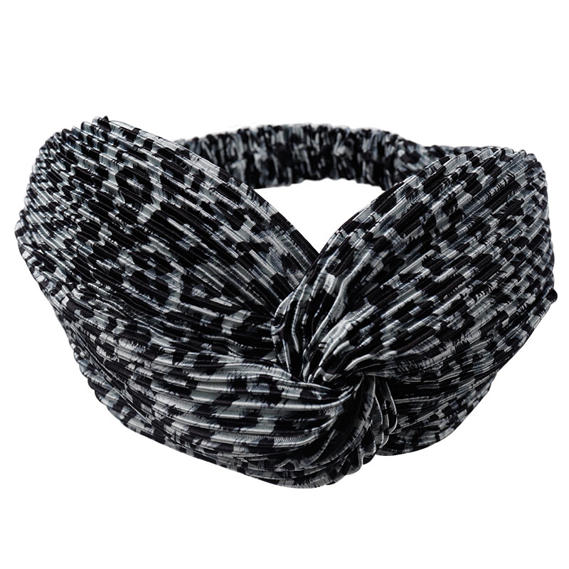 US $1 92 30% OFF|Leopard Cross Headband for Women Turban Hairband Stretch  Twisted Knotted Hair Band Headwear Head Band Hair Accessories-in Women's