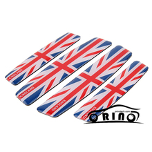 The Union Jack Car Door Sticker For MINI BMW Ford Chevrolet Dodge Opel Skoda Volkswagen Smart  Audi Volvo Mazda Citroen SEAT