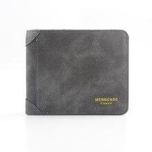 Men Wallets Frosted Short Man's Purse Card Holder Black Relaxation Wallet Fashion Zipper Multi-functional Men's Wallet
