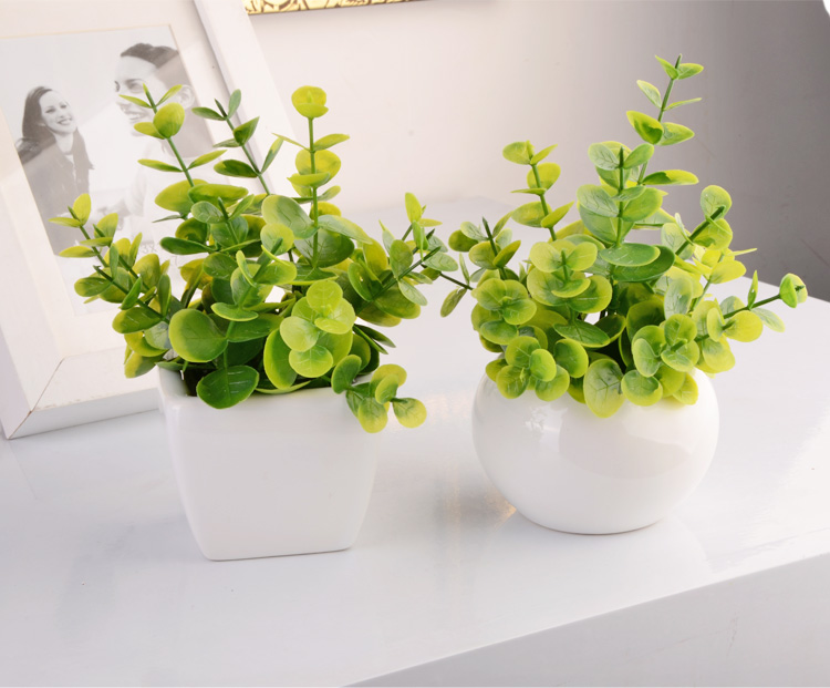 5 1 Mini Bonsai Artificial Flower Set Small Bonsai Office Desk Artificial Flower Green Plants Decoration 8pcs Set Plant Moisture Plant Flower Gameflowers Hope Aliexpress