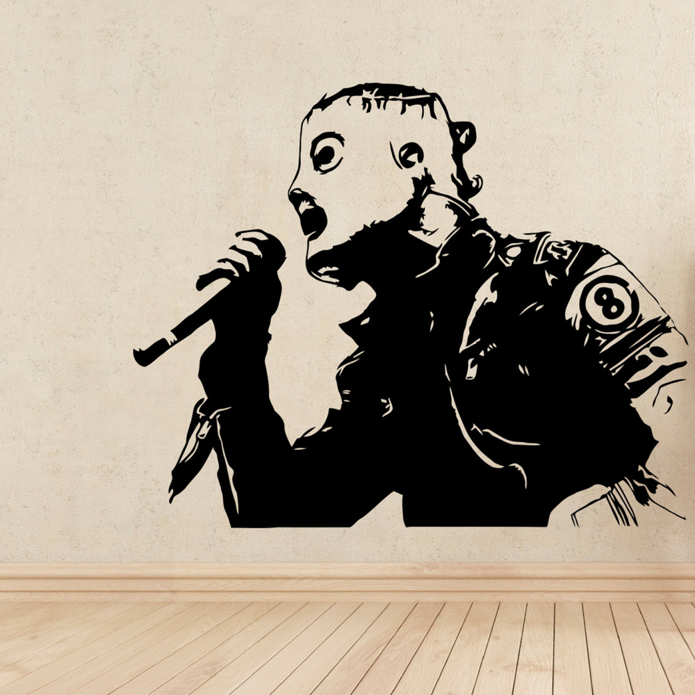 Corey Taylor Slipknot Stickers For Living Room Home Decor Vinilos Paredes Muursticker Vinyl Wall Decal Art Poster Wallpaper A306