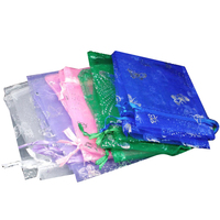 100 Pcs 9x12cm Mixed Butterfly Organza Wedding Gift Bags