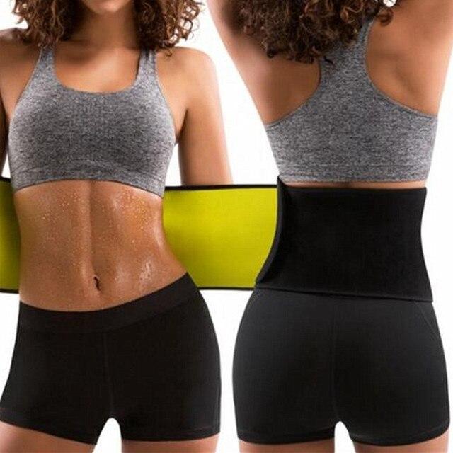 New Sale Women's Shaper Neoprene Abdominal Slimming Belt Sweat Sauna Neoprene Shaper Belts new Body Shapers Waist Trainer Corset 2