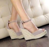 Plus Size Women Sandals New Wedges Sandals For Women Platform Sandals Platform Open Toe High Heel