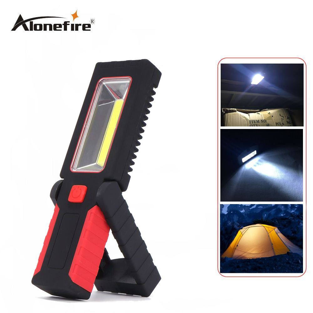 AloneFire C029 2 Mode Adjustable Seat Work Light Camping Outdoor Lamp With Built-in Magnet And Hook LED Flashlight led hook light magnetic flashlight perfect torch work lamp with magnet and 2 light modes camping outdoor sport drop clh