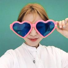 Unisex Men Women Sunglasses Plastic Adult Jumbo Oversized La