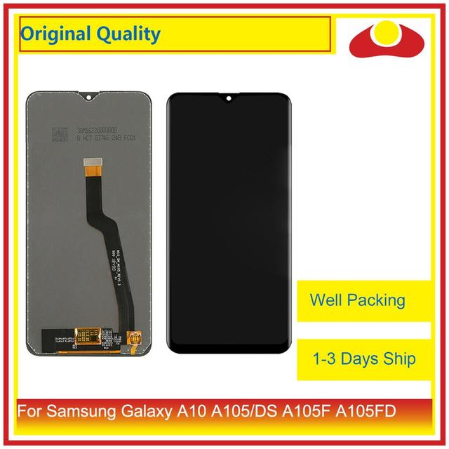 """ORIGINAL 6.2"""" For Samsung Galaxy A10 A105 A105F SM A105F LCD Display With Touch Screen Digitizer Panel Pantalla Complete"""