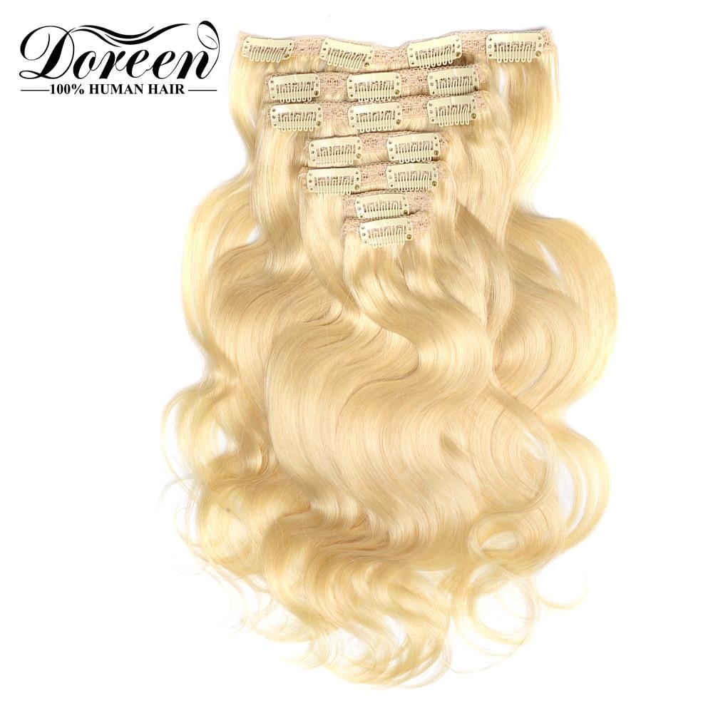 Doreen Full Head European Machine Made Remy Hair 120G 160G 200G 14