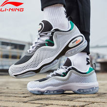 Li-Ning Men BUBBLE MAX II Lifestyle Shoes Air Cushion Retro Breathable Mesh LiNing Sport Shoes Leisure Sneakers AGLP001 YXB263(China)