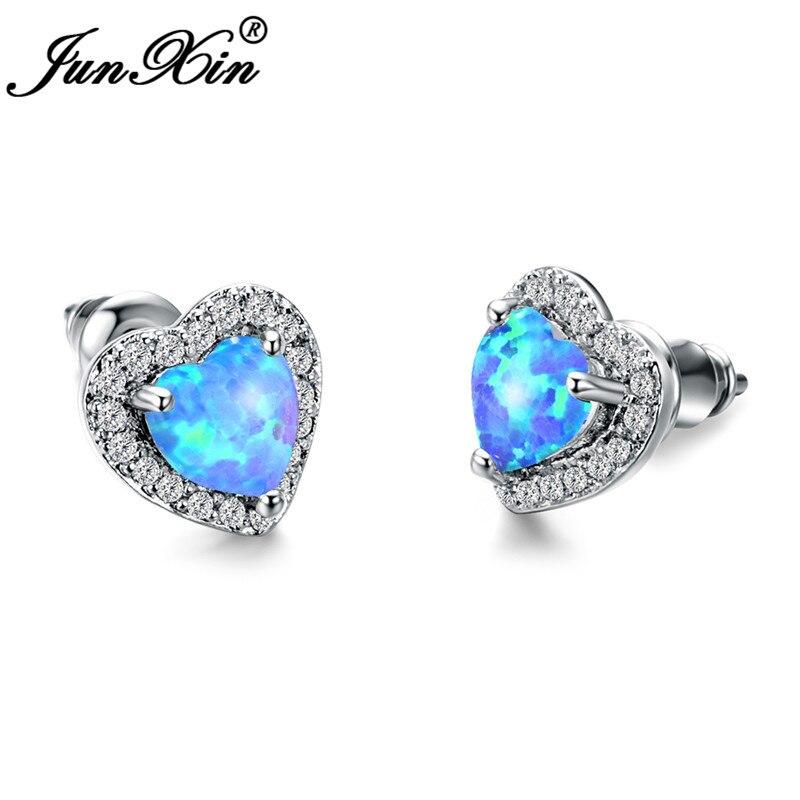 Silver Blue Opal
