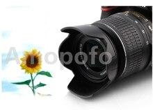 Amopofo Alta Qualidade EW-60C II Camera Lens Hood 58mm Baioneta encaixa para Canon EF 700D 100D 650D 600D EF-S 18-55mm F/3.5-5.6 IS USM