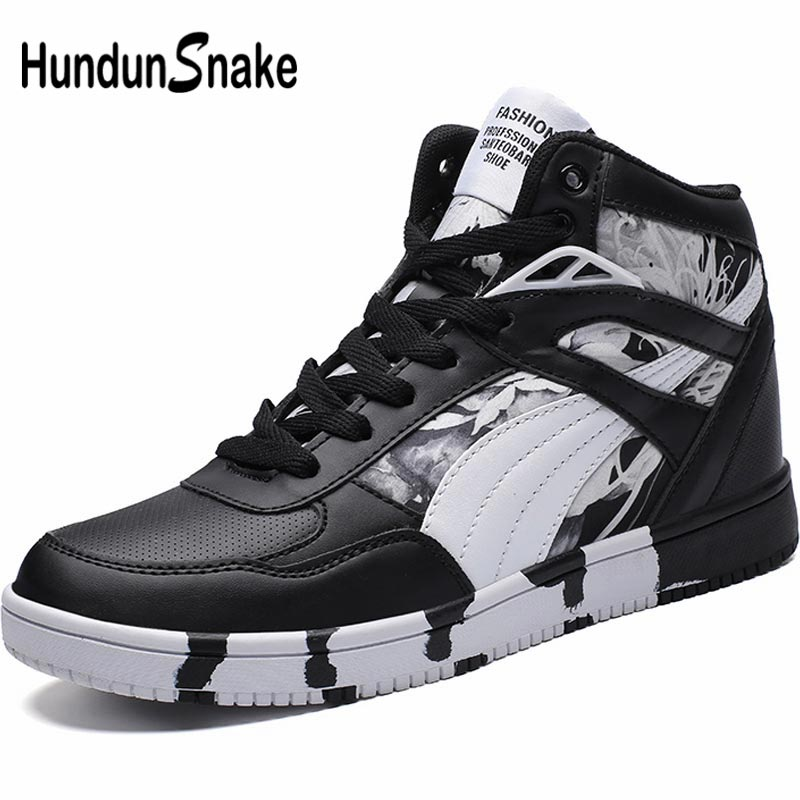 Hundunsnake Summer Womens Shoes Sport Men Sneakers Women's Fitness Shoe Sports Running Shoes Women's High Top Sporty Black A-180