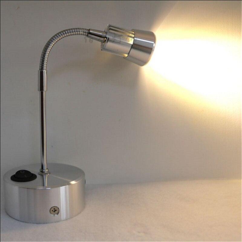 ФОТО 3 years warranty 1W/3W recharging led spot lamp ,rechargable battery wireless display lamp,switch model 360  flexible tube lamp
