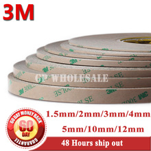 Combined 1.5mm/2mm/3mm/4mm/5mm/10mm/12mm Super Strong Adhesion 300LSE 3M 9495LE Tape for iphone 4 5 ipad Tablet Screen Digitzer