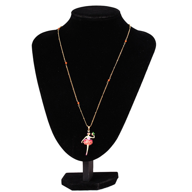 XQ Free shipping 2015 Jewelry pendant Europe new listing gold-plated necklace female les nereides