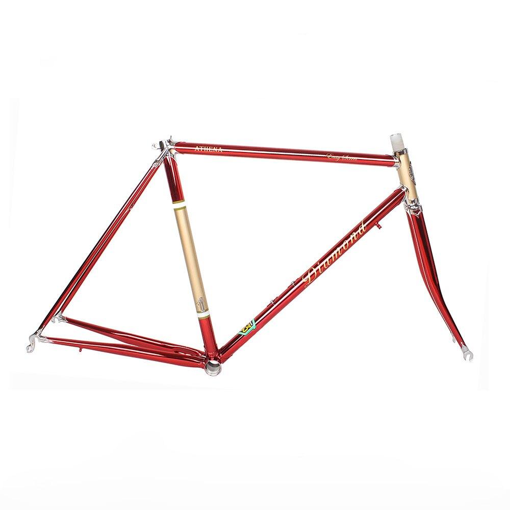 Chrome molybdenum steel road Bike frame DIY  frame fixie bike frame 700 C  525 tube  48 cm 50 cm 52 cm 54 cm   56cm chrome vanadium steel ratchet combination spanner wrench 9mm