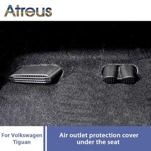 Atreus 1 комплект кондиционера для автомобильного сиденья, защитный чехол для Volkswagen CC VW Tiguan MK1 2009-2016 Golf 7 7,5 RLINE