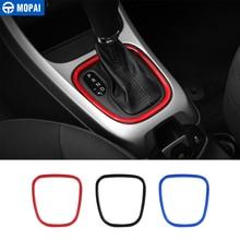 Decoration-Cover Car-Gear-Shift-Knob-Panel Jeep Compass Interior-Stickers Automotive