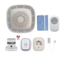 2018 New Wireless Zigbee Smart Alarm system Zigbee HA 1.2 smart gateway hub Smart home system with App Control