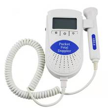 лучшая цена Baby Fetal Doppler Heart Detector Pregnant Women Ultrasound Prenatal Baby Monitor Fetus Heart Rate Thermometers