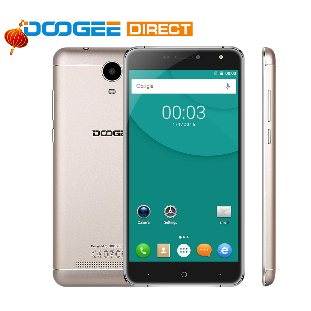 DOOGEE X7 MTK6580 1GB+16GB 6.0 Inch Android 6.0 Quad Core Mos