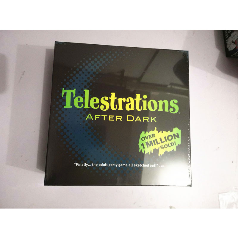 Telestrations After Dark Board Games Toys Adult Party Games Parent-child Interaction Children's Educational Toys