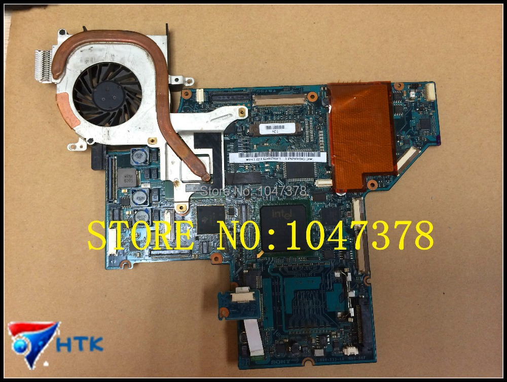 ФОТО Wholesale  A1216408A For SONY MBX-114 LAPTOP Motherboard DDR2 1-869-773-13 100% Work Perfect