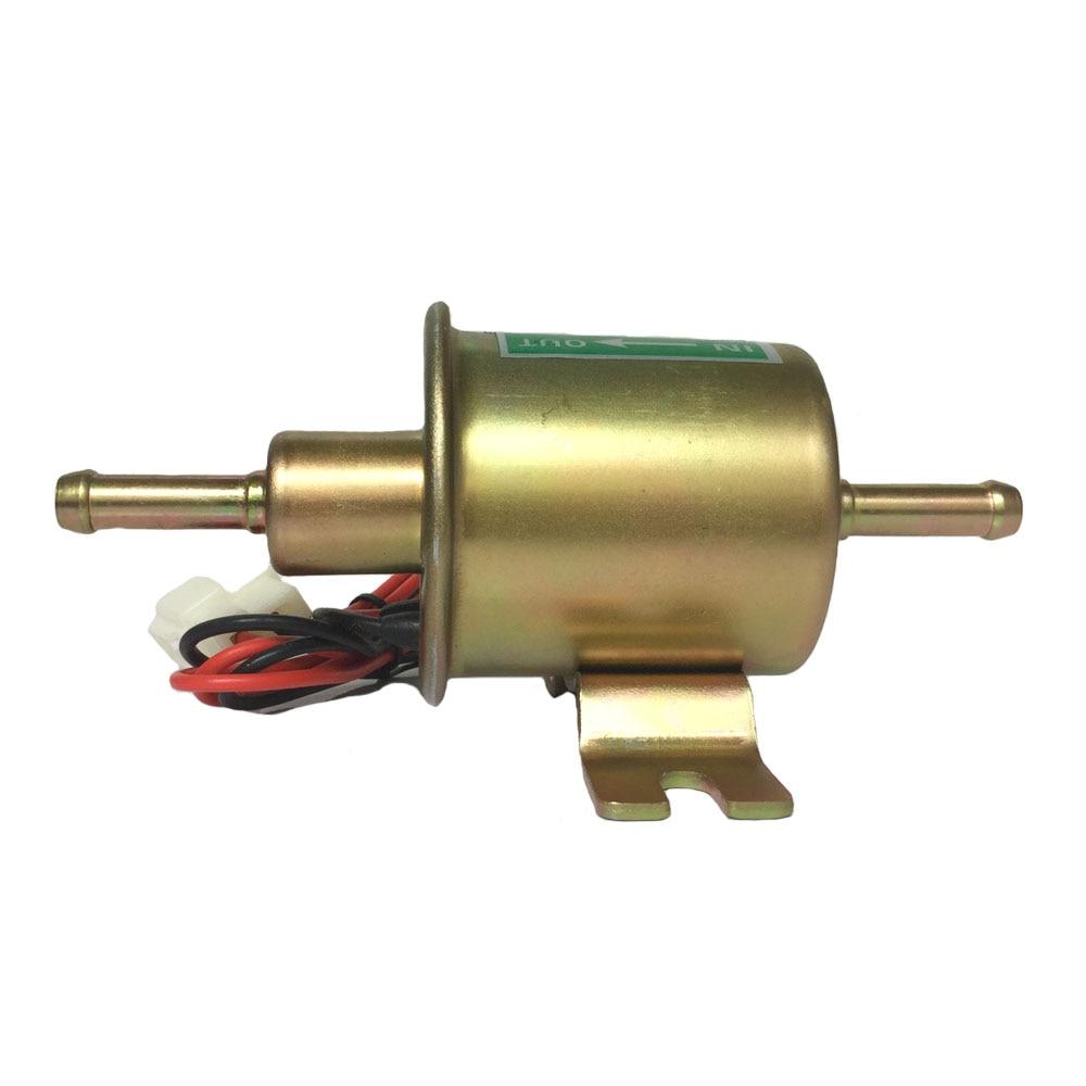 Hep 02a New Universal 12v Electric Fuel Pump Inline Diesel Petrol Electrical Low Pressure Hep02a