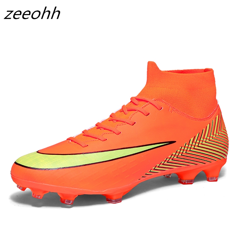 zeeohh Ankle High Top Soccer Cleats Boots Football Boots Long & Short Spikes Mens Football Shoes Sneakers Outdoor Soccer Shoeszeeohh Ankle High Top Soccer Cleats Boots Football Boots Long & Short Spikes Mens Football Shoes Sneakers Outdoor Soccer Shoes