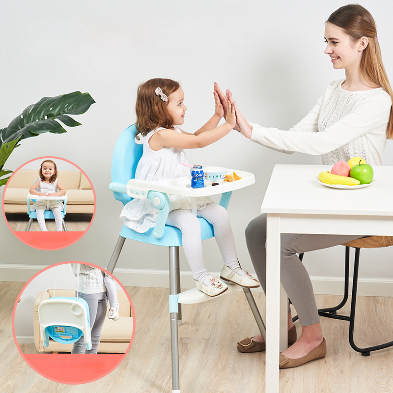 New free shipping portable Kids chair furniture Baby seat dinner table multifunction adjustable folding chairs for children